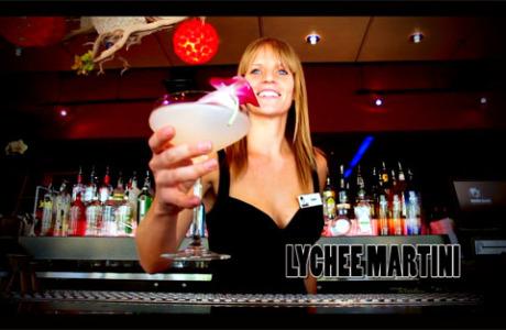 Lychee Martini Geisha House Las Vegas