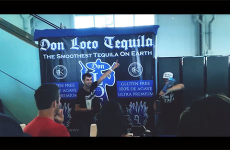 San Diego Spirit Festival Don Loco Tequila booth