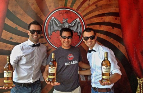 Bacardi rum flair bartending