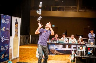 Bartending competition World champion flair bartenders