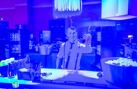 cute bartender