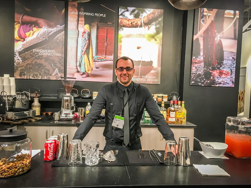 bartender dating service A bartender is a person who formulates and serves alcoholic or soft drink  beverages behind the bar, usually in a licensed establishment bartenders also  usually.